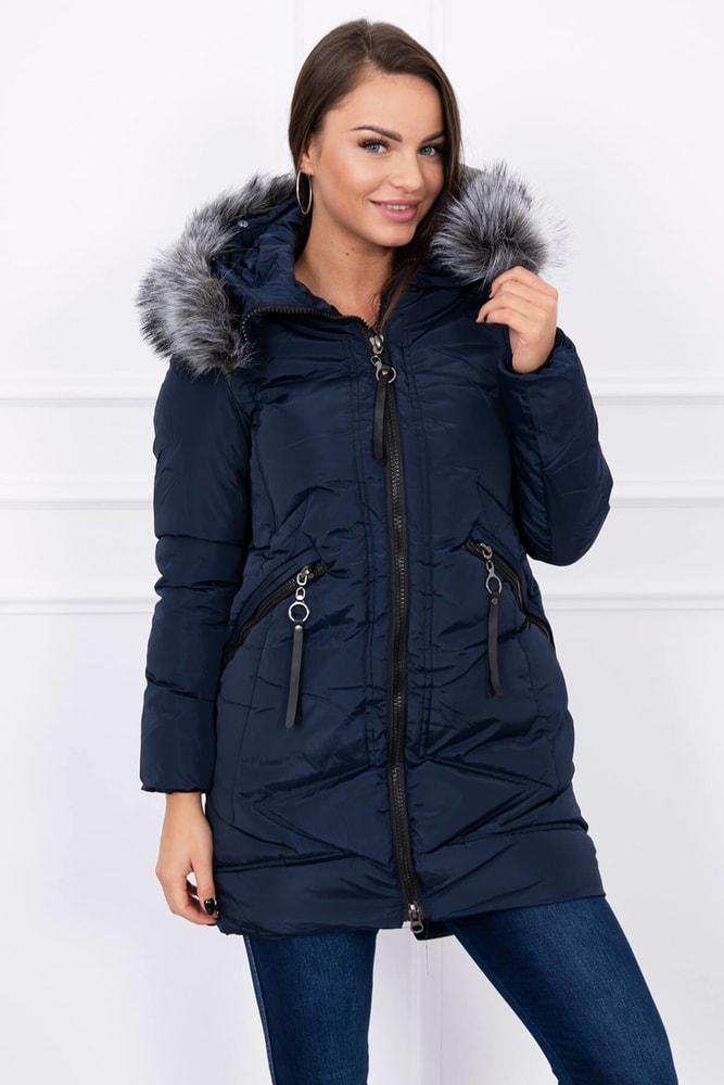 b57f46488882 Dámska zimná bunda - Kesi - Bundy dámske zimné - vasa-moda.sk