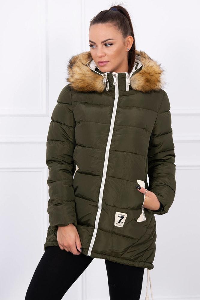 f639c0bfd3 Dámska zimná bunda - Kesi - Bundy dámske zimné - vasa-moda.sk