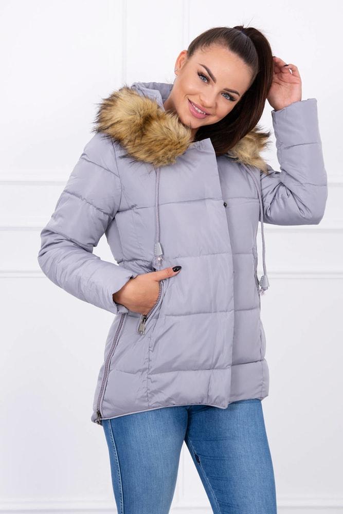09b88c8cf3 Dámska zimná bunda s kapucňou - Kesi - Bundy dámske zimné - vasa ...