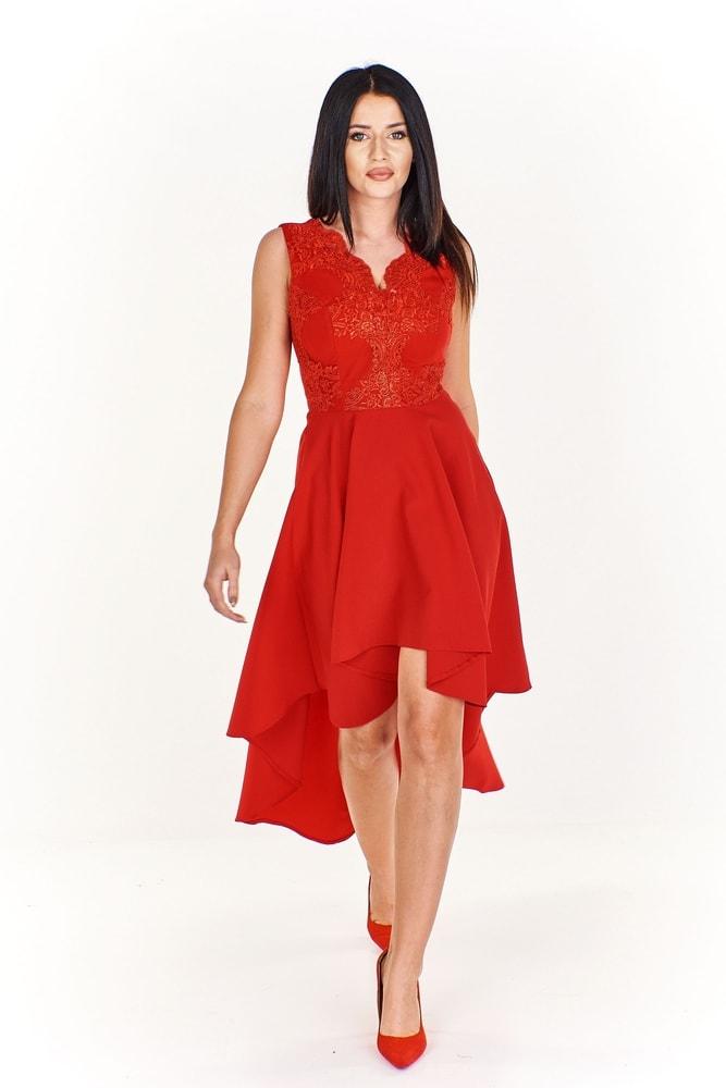 222919cf07a3 Dámske asymetrické šaty - Ptakmoda - Večerné šaty a koktejlové šaty ...