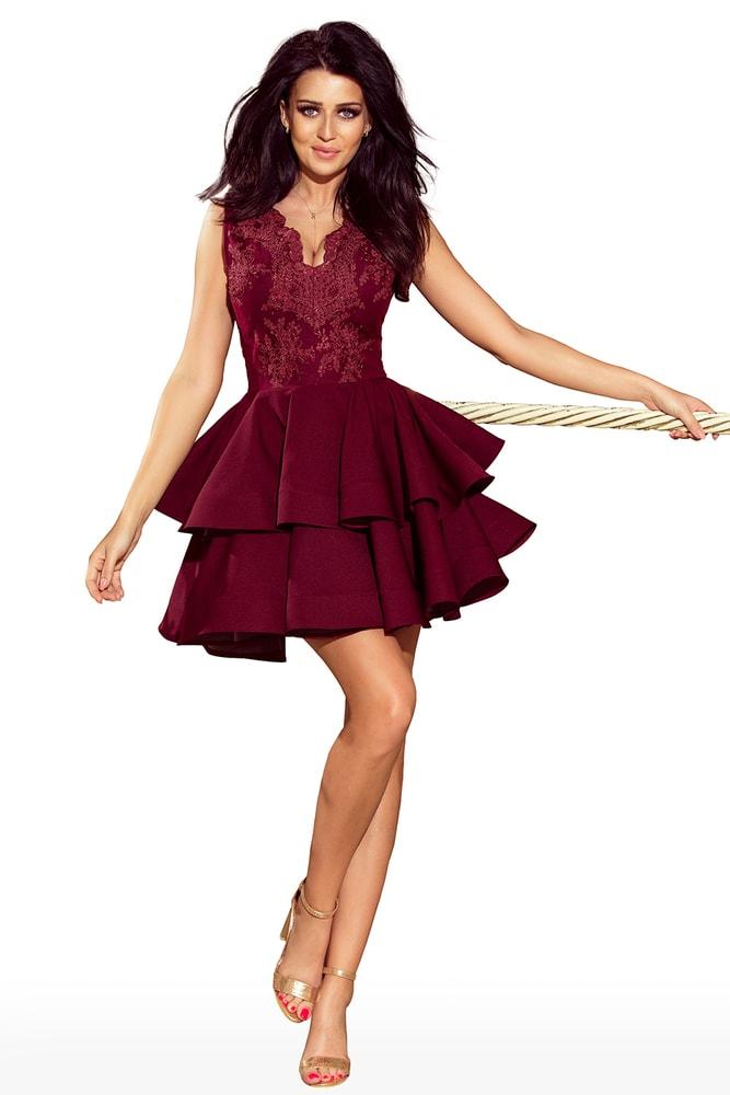 81bdfbac07f4 Krátké plesové šaty - Numoco - Večerné šaty a koktejlové šaty - vasa ...