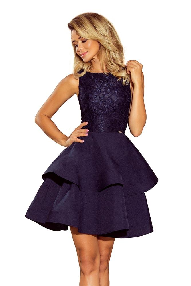 200cc03c41d7 Společenské krátké šaty - Numoco - Večerné šaty a koktejlové šaty ...