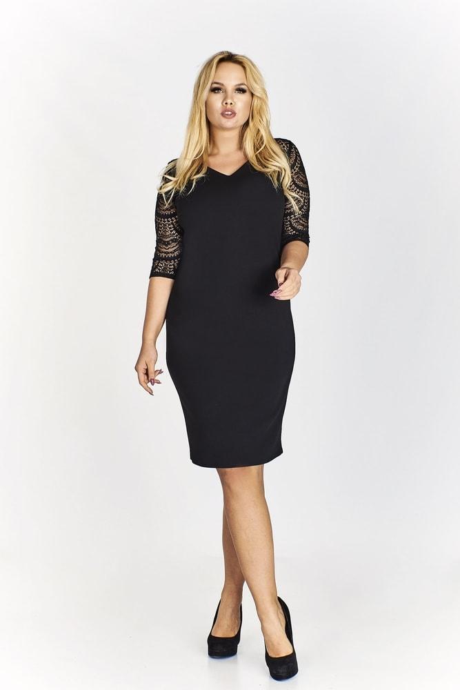 f326d56f9fab Čierne puzdrové šaty - Ptakmoda - Puzdrové šaty - vasa-moda.sk