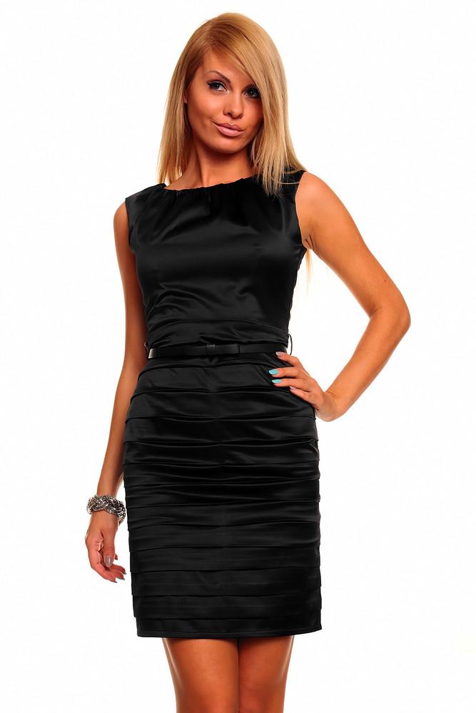 15c0ad52c381 Šaty do společnosti černé - Mayaadi - Večerné šaty a koktejlové šaty ...