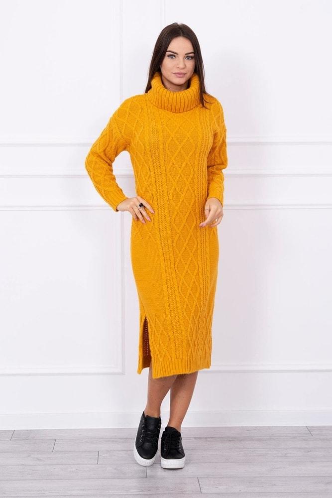 2854a7089374 Domů ›  Dámské šaty ›  Úpletové šaty ›  Pletené dlouhé šaty