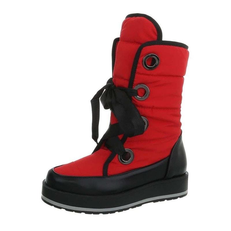 0a9271ba60d1 Dámske červené snehule - EU - Dámske zimné topánky - vasa-moda.sk