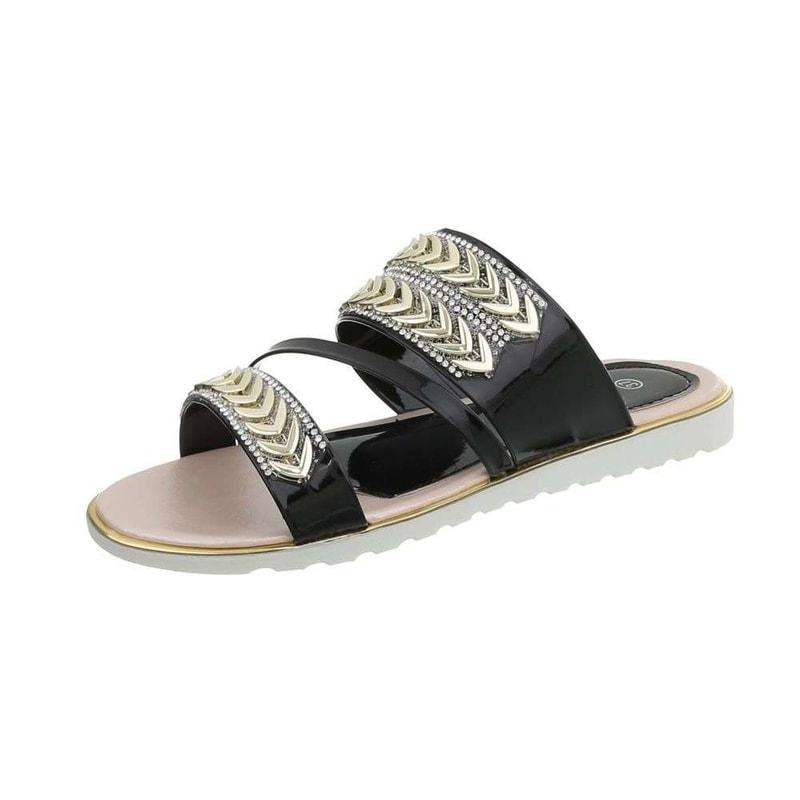 1ccf961fd198 ... Dámske šľapky ›  Letní pantofle ›  Dámské lesklé pantofle · Dámské  lesklé pantofle Zväčšiť obrázok