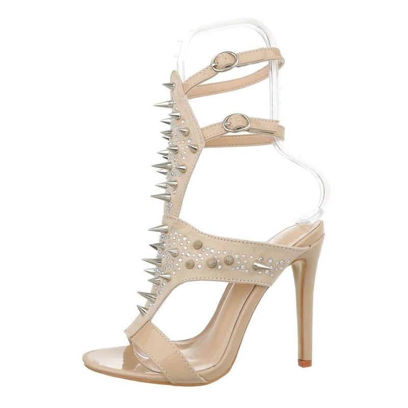 07f3839002fc Dámske sandále na vysokom podpätku - EU - Společenské sandály ...