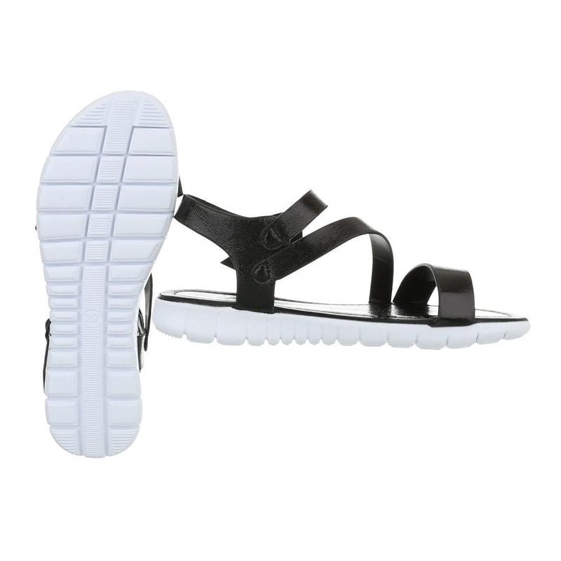 6bb479afdfa90 Dámske letné sandálky čierne - EU - Letní sandály - vasa-moda.sk