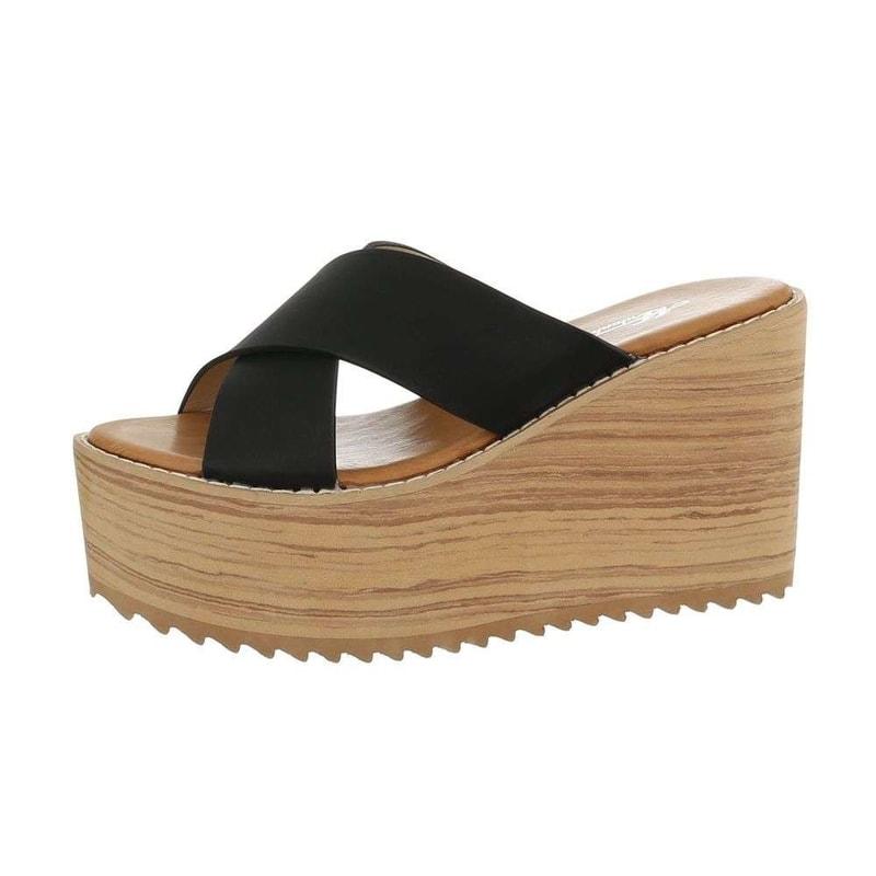 3ffff0c725 Letné dámske šľapky na platforme - EU - Letní pantofle - vasa-moda.sk