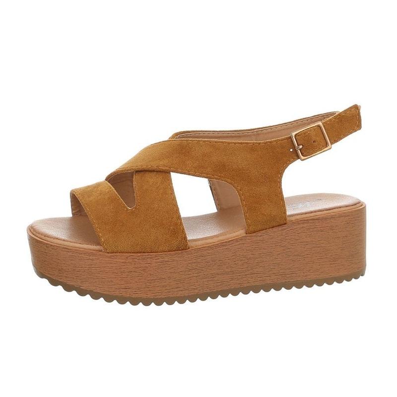 22c4456504b47 Sandálky na platformě - EU - Letní sandály - i-moda.cz