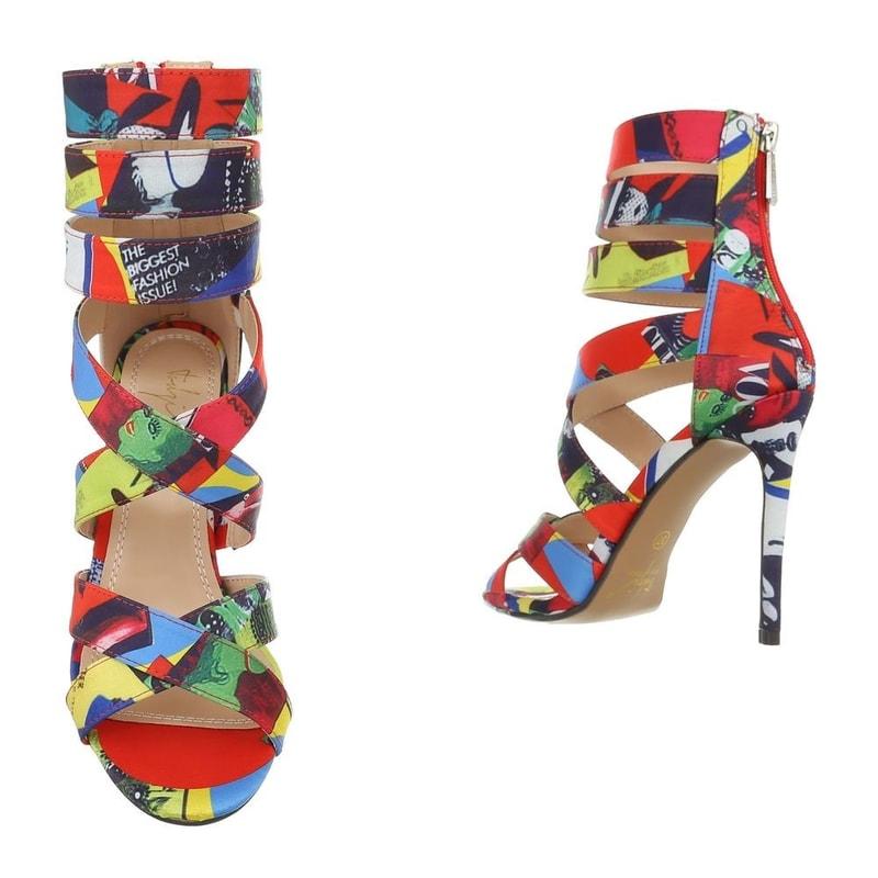 56c32a22a Farebné sandálky - EU - Letní sandály - vasa-moda.sk
