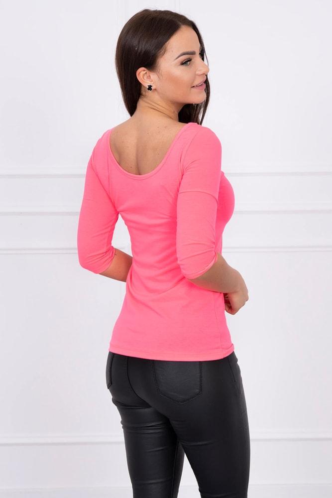 5f672237df538 Neónové růžové tričko - Kesi - Dámske tričká - vasa-moda.sk