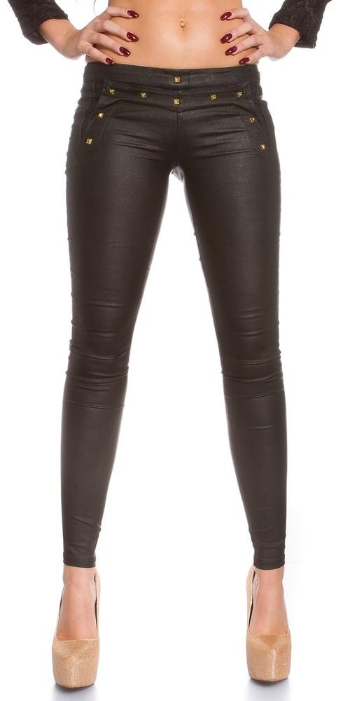 a870165f5c70 Úzke čierne nohavice - Koucla - Dámske nohavice - vasa-moda.sk