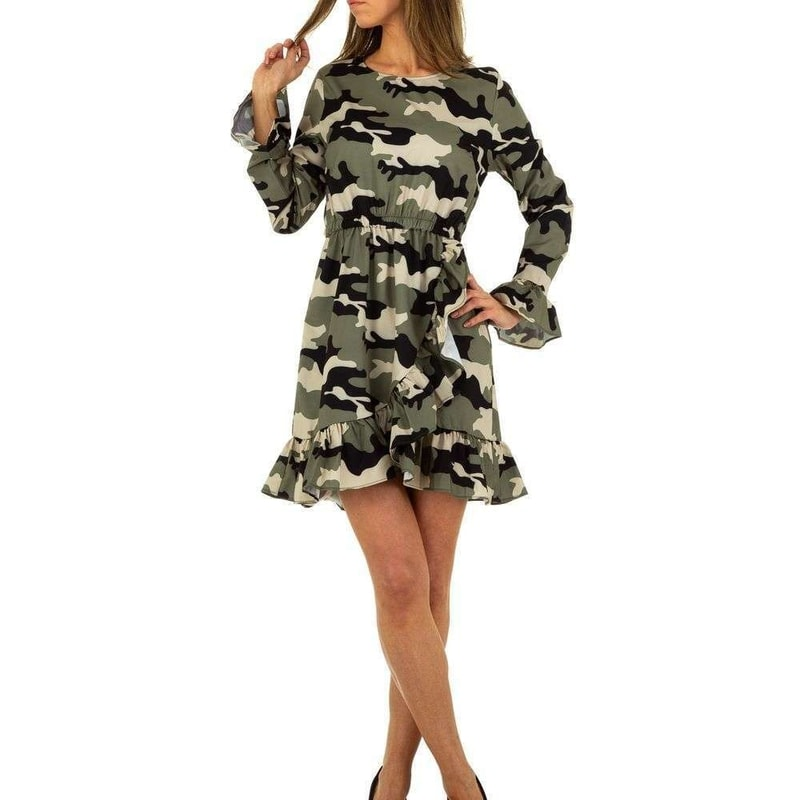 5382aecd9100 Dámské army šaty - EU - Krátké letní šaty - i-moda.cz
