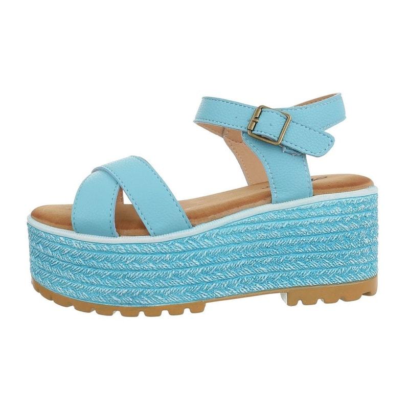 7c2cdaa4b1054 Dámske sandále na platforme - EU - Letní sandály - vasa-moda.sk