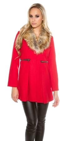 31ae6e97c82b Dámský elegantní kabát - II. jakost - Koucla - Výpredaj oblečenia II ...