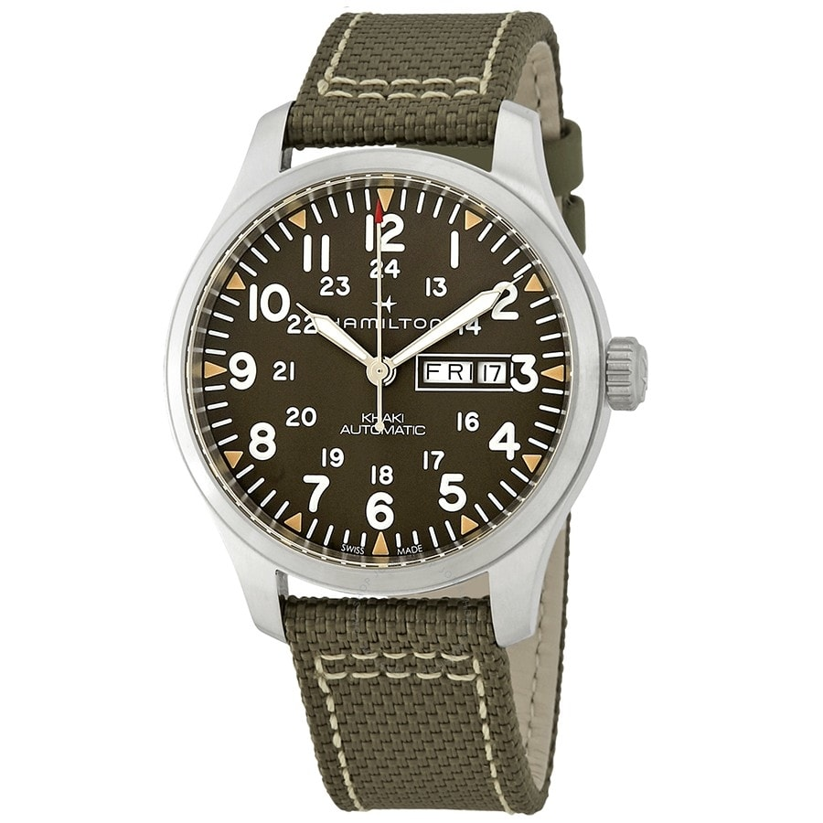 Hamilton Khaki Aviation Pilot Day Date Auto H70535081