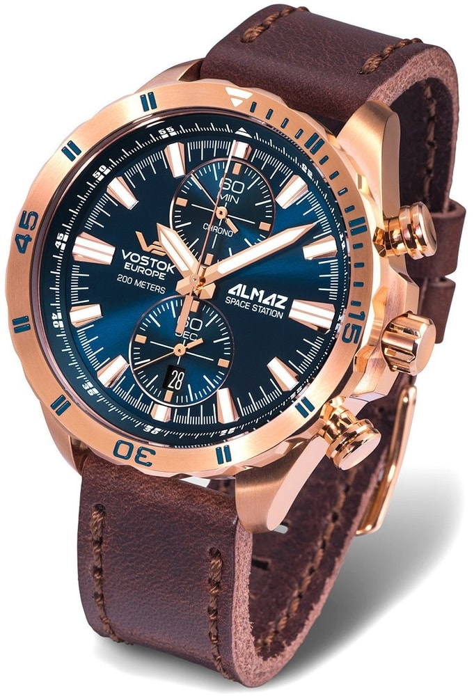 Vostok Europe Almaz Chrono 6S11-320B262