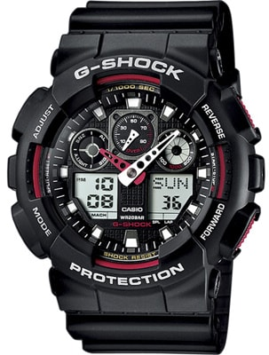 Casio G-Shock Chronograph GA-100-1A4ER