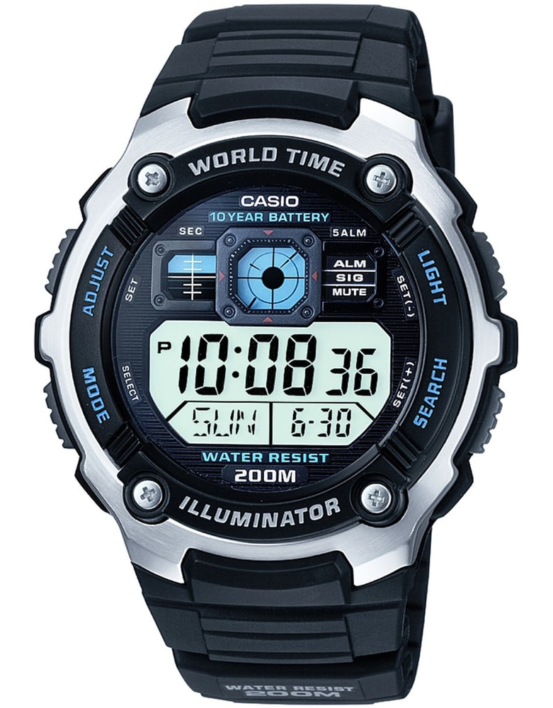 Casio World Timer AE-2000W-1AVEF