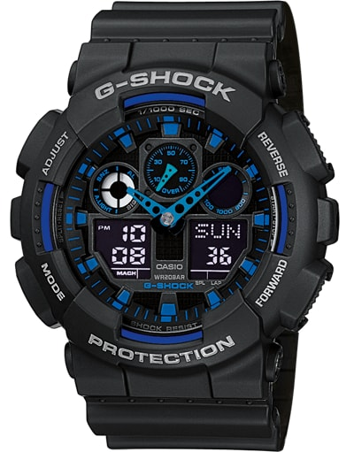 Casio G-Shock Chronograph GA-100-1A2ER