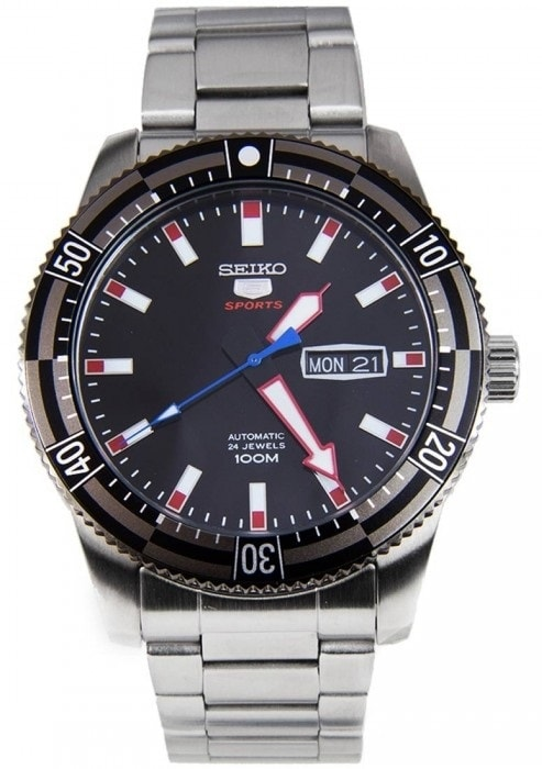 Seiko Automatic Stainless Steel Mens Sports SRP735K1