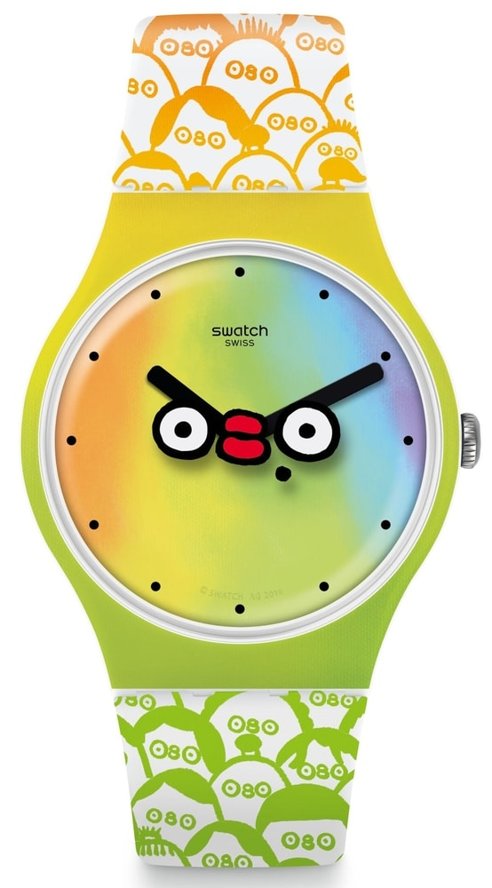 Swatch Club Special What´s Yo Face ? SUOZ303