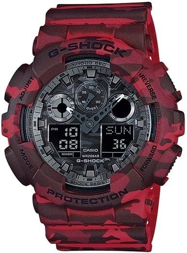 Casio G-Shock GA-100CM-4AER - 30 dní na vrátenie tovaru