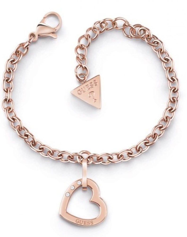 Guess Hearted Chain UBB29076-S