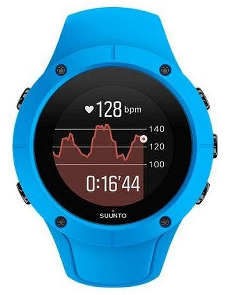 Suunto Trainer Wrist HR Blue SS023002000