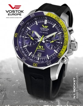 Vostok Europe Rocket N1 Chrono 6S21-2255253S