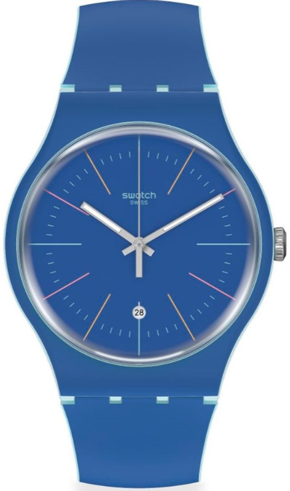 Swatch Blue Layered SUOS403