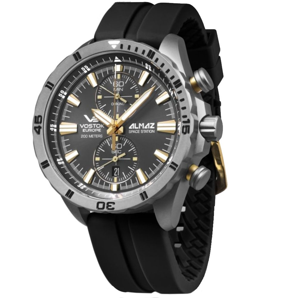 Vostok Europe Almaz Space Station 6S11-320H521S-B