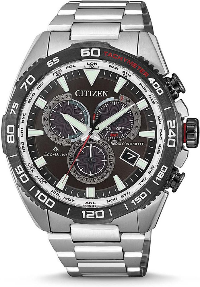 Citizen Promaster Land Eco-Drive Radio Controlled CB5036-87X
