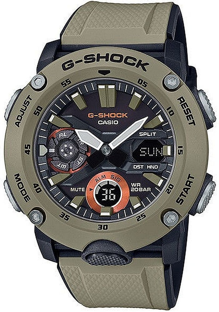 Casio G-Shock Carbon Core Guard GA-2000-5AER