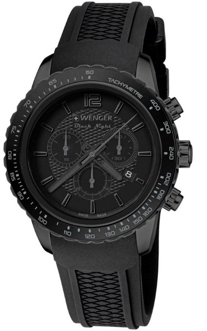 Wenger Roadster Black Night Chrono Full Black 01.0853.111