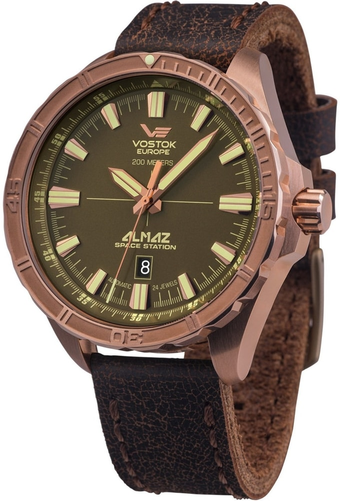 Vostok-Europe  Almaz Space Station  Bronze Line NH35-320O516