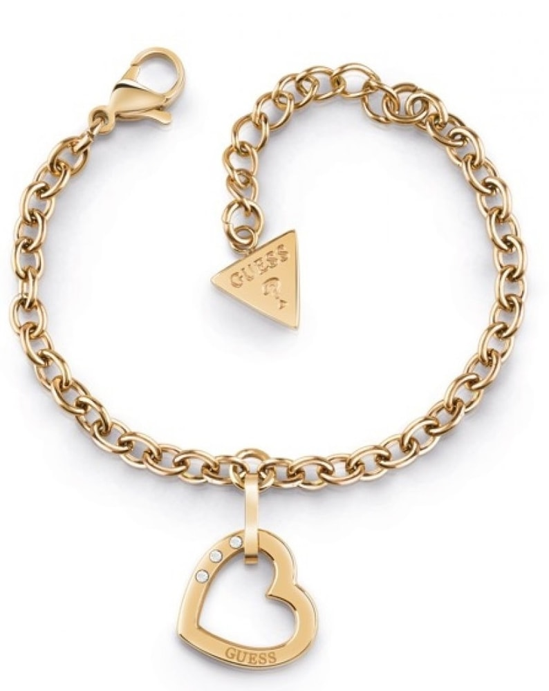Guess Hearted Chain UBB29075-S