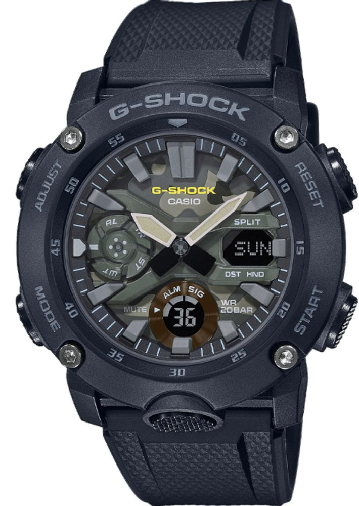 Casio G-Shock Carbon Core Guard GA-2000SU-1AER