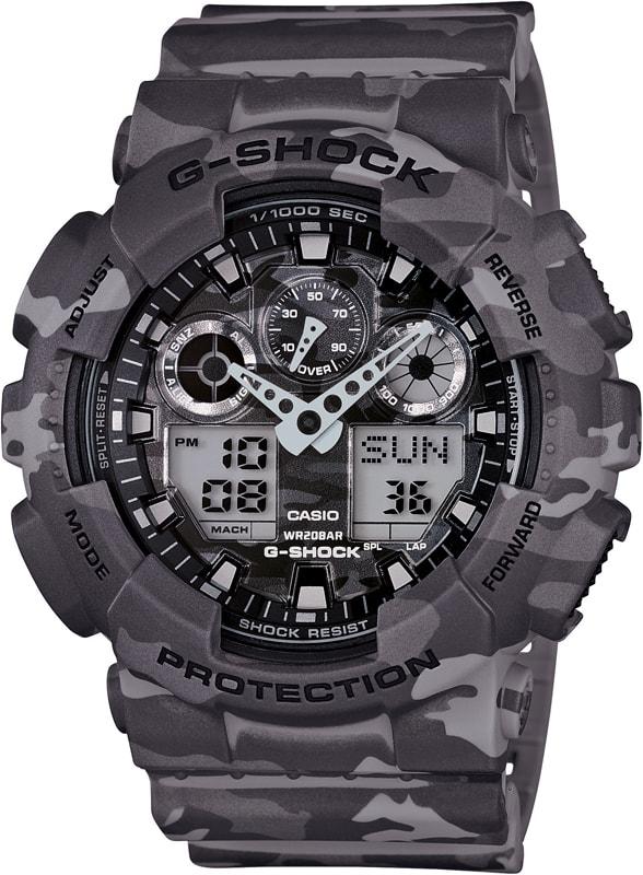 Casio G-Shock GA-100CM-8AER - 30 dní na vrátenie tovaru
