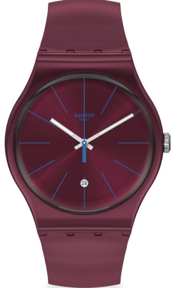 Swatch Burgundazing SUOR402