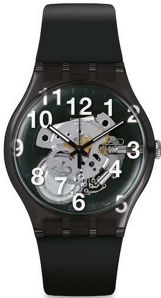 Swatch Listen To Me Black Board SUOK135
