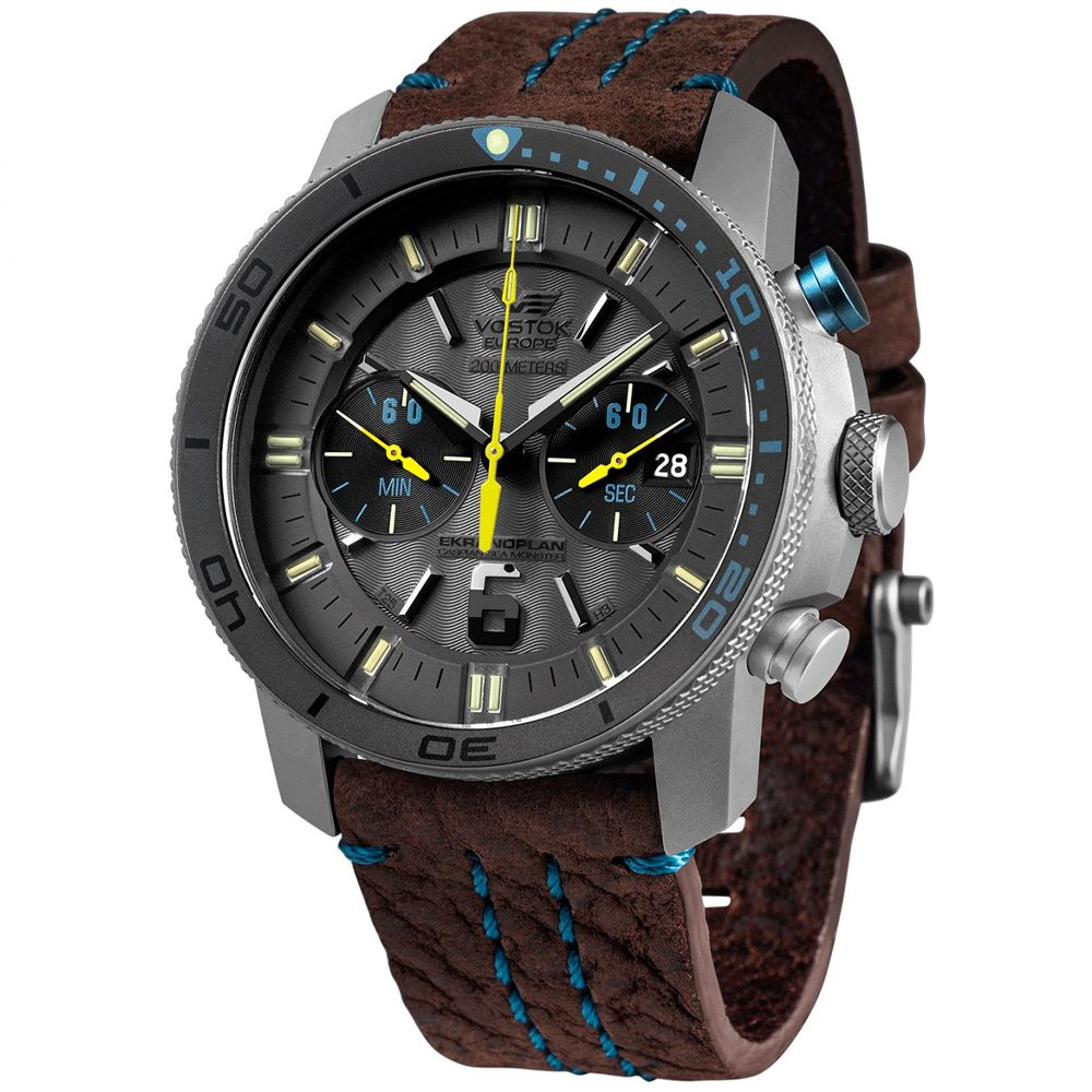 Vostok Europe Ekranoplan Sea Monster 6S21-546H514