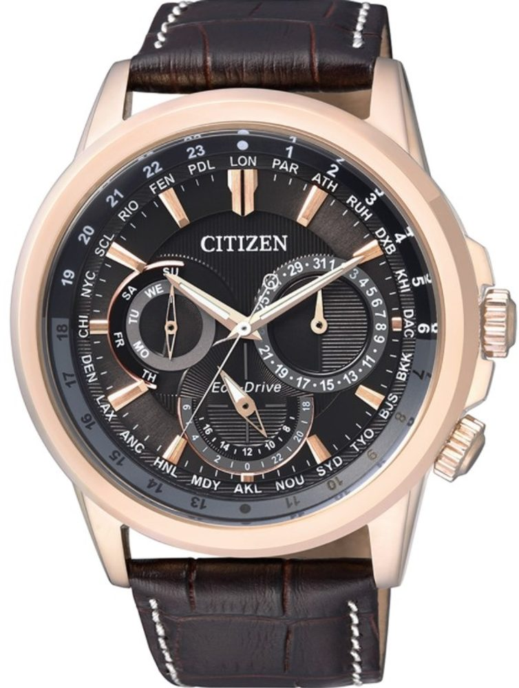 Citizen World Time BU2023-12E