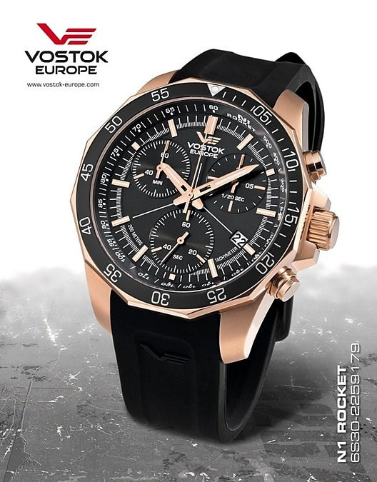 Vostok Europe Rocket N1 Chrono 6S30-2259179S