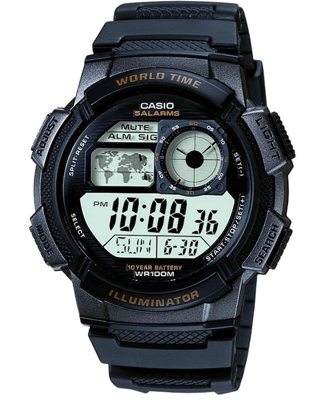 Casio World Timer AE-1000W-1AVEF