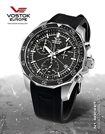 Vostok Europe Rocket N1 Chrono 6S30-2255177S