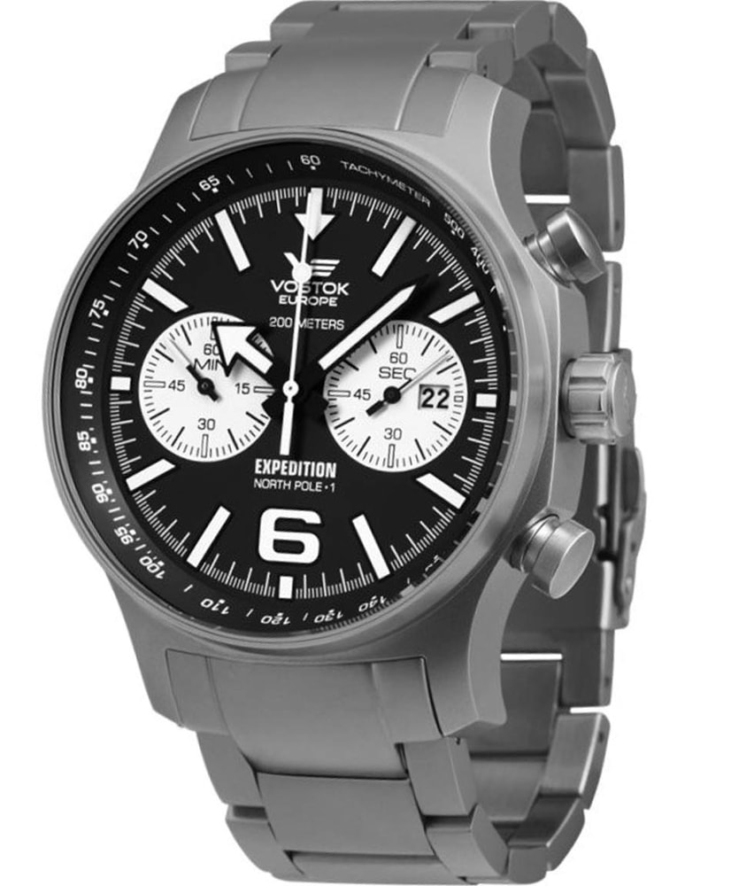 Vostok Europe Expedition -NORTH POLE-1- Chrono 6S21-5955199B