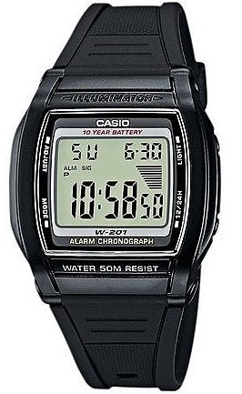 Casio Collection W-201-1AVEF